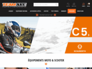 TEAM AXE - Enseigne leader de l'accessoire Moto sur Paris