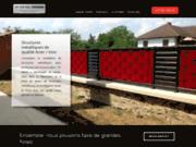 Escalier métallique en aluminium avec TF Métal Design