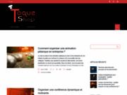 Toque-Shop, fournitures personnalisées pour restaurants