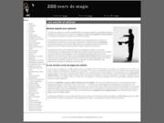 Tours de magie pour magiciens amateurs ou professionnels