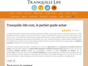 Tranquille Life le guide achat