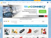 TRConseil : site de vente de matériels de BTP