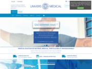Univers Médical : Matériel médical pour particuliers et professionnels