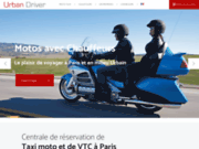 Urban Driver - Service de moto taxi pour vos déplacements dans tout Paris