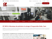 Entreprise de mécanique de précision et d'usinage Feuguerolles-Bully