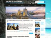 Vacances scolaires, blog dédié au voyage