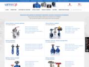 Vanneco : robinetterie industrielle en ligne