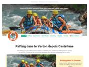 Yeti Rafting, le Verdon en rafting et canöe