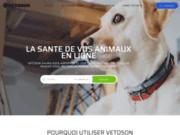 Vetoson - Rendez-vous Vétérinaire et Carnet de Santé Animal et Vaccin Chien et Chat en Ligne