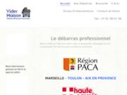Site web de vider maison.fr
