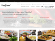 Visiochef, Cours de cuisine en ligne