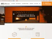 Garage ossature bois - Votre Garage Bois