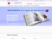 Imprimerie en ligne Bordeaux Gironde
