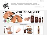 Lotion autobronzante pour vitiligo différente du fond de teint