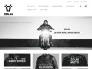 Blouson Moto Cuir Zolki