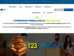 Détails : Vente sur internet de cartons de déménagement