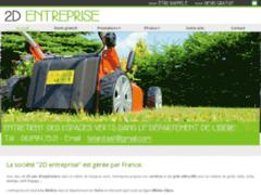 Création du site Internet de 2Dentreprise (Entreprise de Jardinier à RIVIERE (LA) )