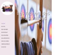 Création du site Internet de Archers Des 3 Vallées (Entreprise de Club de sport à DIGNE LES BAINS )