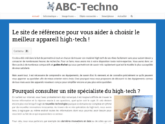 Détails : L'univers high tech