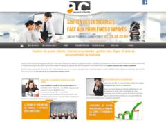 Création du site Internet de ACCENT CLIENTS (Entreprise de Comptable  à TIGNIEU-JAMEYZIEU )