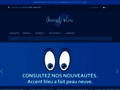 Accent bleu du Quebec - produits de fierté