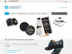 Les produits et accessoires d'entretien de chaussures