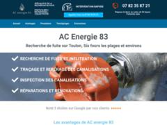 Détails : Des plombiers expérimentés en recherche de fuite sur Toulon