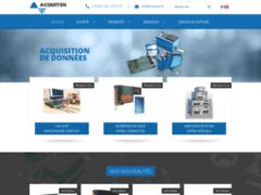 Détails : Acquitek, fournisseur de solutions d'acquisition de données