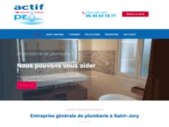 Création du site Internet de ACTIF PRO plomberie (Entreprise de Chauffagiste à ST JORY )
