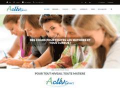 Détails : Activ'cours - Soutien scolaire à domicile