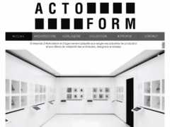 Actoform - ébénisterie et agencements en Suisse
