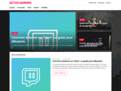 Détails : Actualités gaming en France