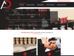 Avocat faillite civile alsace moselle : cabinet AD