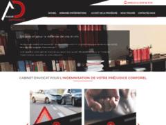 Avocat de l'indemnisation du préjudice corporel : cabinet AD