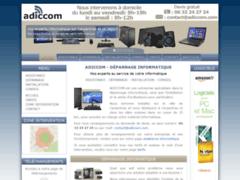 Site Détails : Adiccom - Dépannage Informatique sur Carpentras