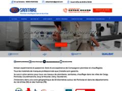 Création du site Internet de ADS SANITAIRE (Entreprise de Plombier à PONTOISE )