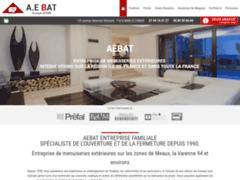 Création du site Internet de AEBAT (Entreprise de Menuisier à MARLES ENBRIE   )