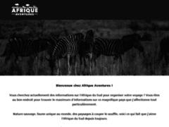 Détails : Afrique Aventures, présentation des intinéraires sur-mesure