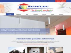 Création du site Internet de AGTELEC (Entreprise de Electricien à ANIANE )