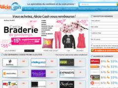 Détails : Aliciacash.com, site de cashback