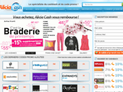 Détails : Aliciacash.com