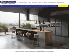 Création du site Internet de Alizés Cuisines (Entreprise de Cuisiniste à BAIE MAHAULT )