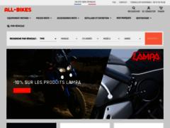 all-bikes.fr, site spécialisé dans l'accessoire moto