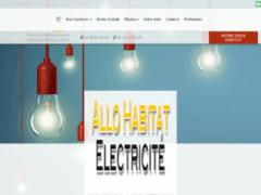 Création du site Internet de Allo Habitat électricité (Entreprise de Electricien à MONTIGNY LES METZ )
