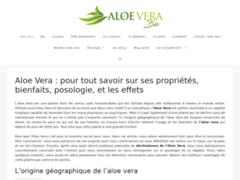 Aloe vera pour la santé