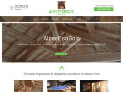 Création du site Internet de AlpesEcoBois (Entreprise de Constructeur de maison à GAP )