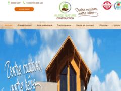 Création du site Internet de ALPES NATURE CONSTRUCTION (Entreprise de Constructeur de maison à GAP )