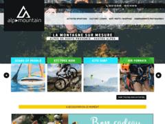 Création du site Internet de AlpMountain (Entreprise de Parcs d'attractions et de loisirs à MONTCLAR )