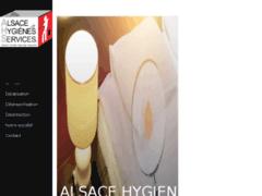 Création du site Internet de ALSACE HYGIENE SERVICES (Entreprise de Entreprise de nettoyage à STRASBOURG )