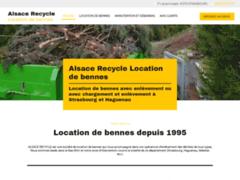 Création du site Internet de Alsace Recycle (Entreprise de Entreprise de nettoyage à STRASBOURG )